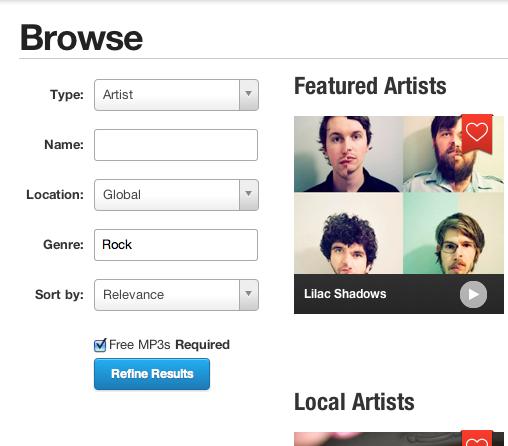 Cómo descargar música de ReverbNation gratis