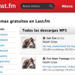 Música gratis para bajar en Lastfm.es