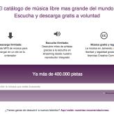 Cómo bajar música gratis legalmente en Jamendo