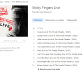 Nuevo álbum: The Rolling Stones – Sticky Fingers Live